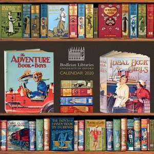 Bodleian Library – Book Covers Wall Calendar 2020 (Art Calendar) de Flame Tree Studio