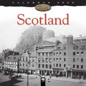 Scotland Heritage Wall Calendar 2020 (Art Calendar) de Flame Tree Studio