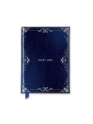 Classic Dark Blue Pocket Diary 2020 de Flame Tree Studio