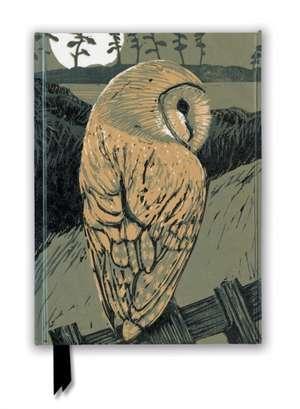 Chris Pendleton: Barn Owl (Foiled Journal) de Flame Tree Studio