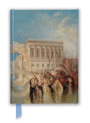 Tate: Venice, the Bridge of Sighs by J.M.W. Turner (Foiled Journal) de Flame Tree Studio
