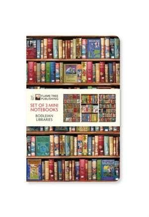 Bodleian Libraries Mini Notebook Collection de Flame Tree Studio