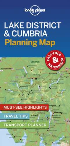 Lake District & Cumbria Planning Map imagine