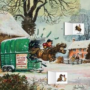 Normal Thelwell - Pony Cavalcade Advent Calendar 2021 (with stickers) de Flame Tree Studio