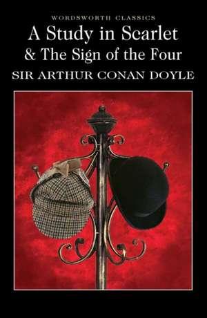 A Study in Scarlett and the Sign of the Four de Arthur Conan Doyle