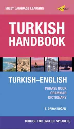 Turkish Handbook For English Speakers de Orhan Dogan