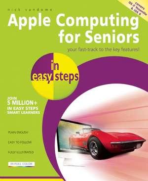 Apple Computing for Seniors in easy steps imagine