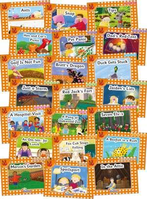 Jolly Phonics Orange Level Readers Complete Set de Louise Van-Pottelsberghe