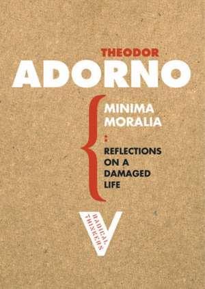 Minima Moralia de Theodor Adorno