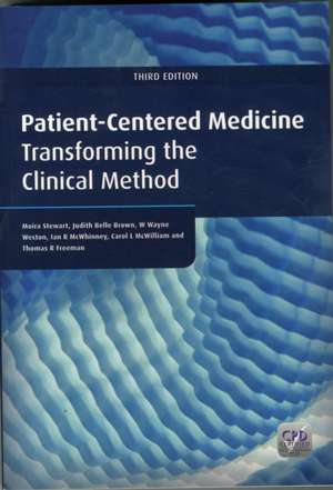 Patient-Centered Medicine, Third Edition
