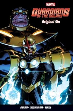Guardians Of The Galaxy Vol. 4: Original Sin de Brian Michael Bendis