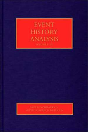 Event History Analysis de Lawrence L. Wu
