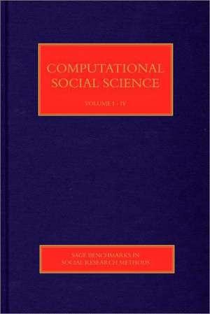 Computational Social Science de Nigel Gilbert