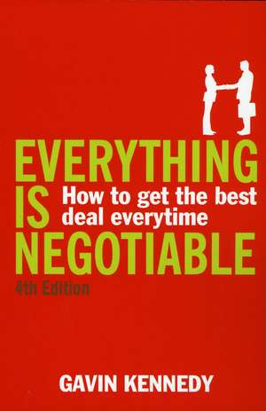 Everything Is Negotiable imagine