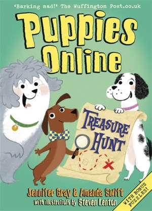 Puppies Online: Treasure Hunt de Amanda Swift