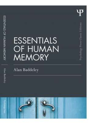 Essentials of Human Memory