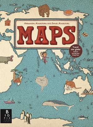 Maps de Aleksandra Mizielinska