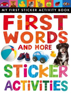First Words and More Sticker Activities