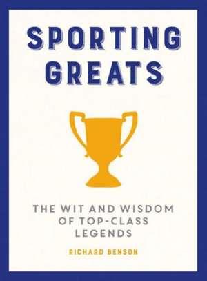 Sporting Greats de Richard Benson