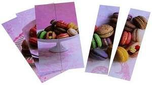Semne de carte cu retete Macarons