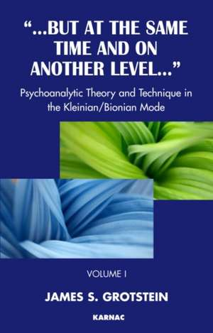 Psychoanalytic Thoery and Technique in the Kleinian/Bionian Mode imagine