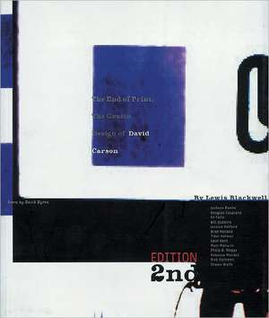 The End of Print:  The Grafik Design of David Carson de Lewis Blackwell