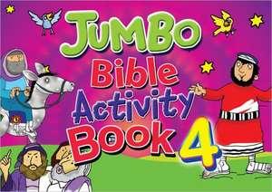 Jumbo Bible Activity Book 4