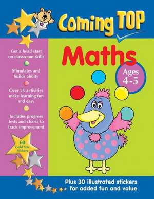 Coming Top Maths Ages 4-5