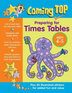 Coming Top Preparing for Times Tables Ages 4-5