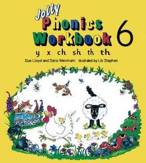 Jolly Phonics Workbook 6 imagine