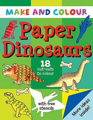 Make and Colour Paper Dinosaurs