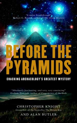 Before The Pyramids de Christopher Knight