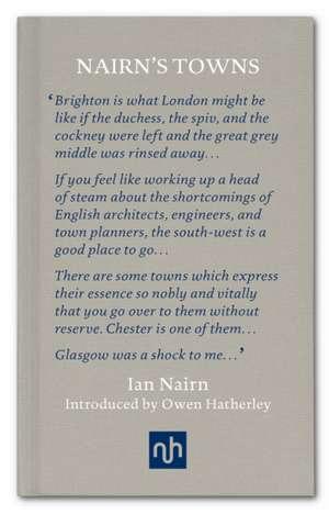 Nairn's Towns de Ian Nairn