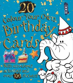 Colour Your Own Birthday Cards