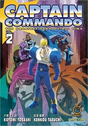 Captain Commando Volume 2 de Kenkou Tabuchi