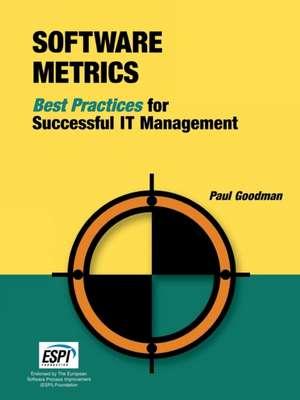 Software Metrics de Paul Goodman