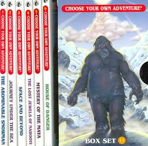 Box Set #6-1 Choose Your Own Adventure Books 1-6:  The Abominable Snowman, Journey Under the Sea, Space and Beyond, the Lost Jewel de R.A. Montgomery