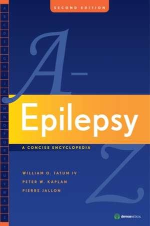 Epilepsy A to Z: A Concise Encyclopedia