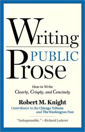 Writing Public Prose imagine