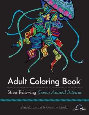 Adult Coloring Book de Daniela Licalzi