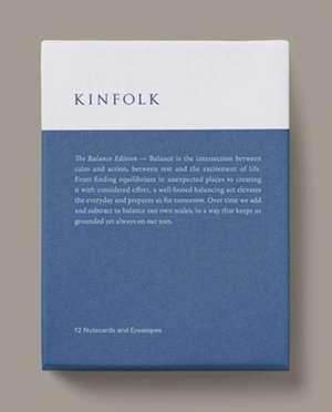 Kinfolk Notecards - The Balance Edition de Kinfolk