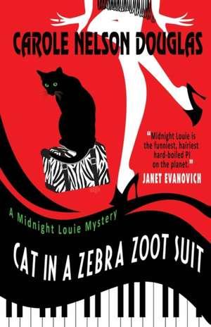 Cat in a Zebra Zoot Suit