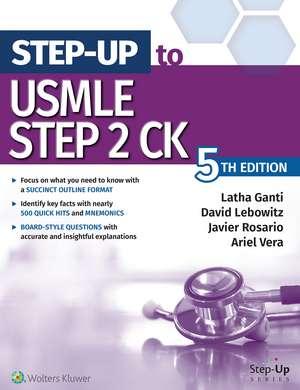 Step-Up to USMLE Step 2 CK de Latha Ganti MD