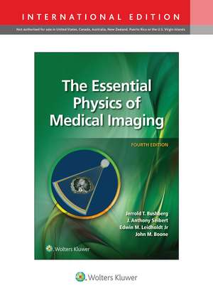 The Essential Physics of Medical Imaging imagine