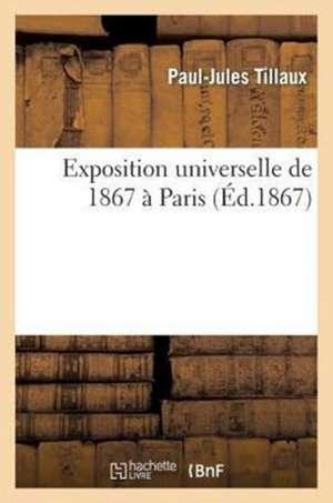 Exposition Universelle de 1867 a Paris. Rapports Du Jury International