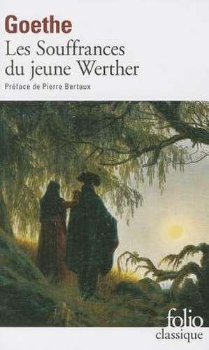 Souffrance Du Jeun Wert de Johann Wolfgang von Goethe