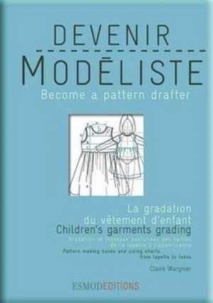 Children's Garments Grading de Claire Wargnier
