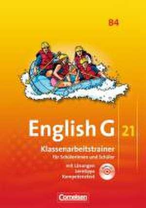 English G 21. Ausgabe B 4. Klassenarbeitstrainer mit Loesungen und Audios online