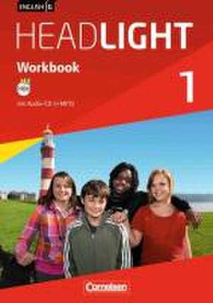 English G Headlight 01: 5. Schuljahr. Workbook mit Audios online