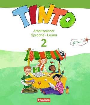 TINTO 2-4 2. Schuljahr. Sprachlesebuch 2: Gruene Ausgabe. Arbeitsordner Sprache und Lesen